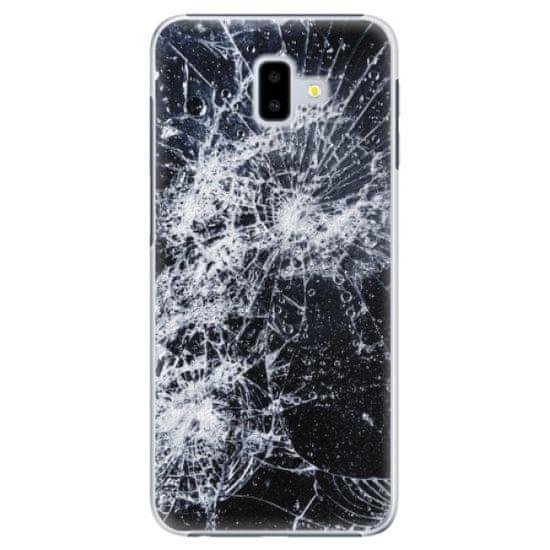 iSaprio Plastový kryt - Cracked pre Samsung Galaxy J6+