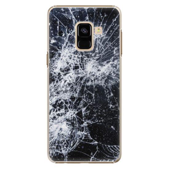 iSaprio Plastový kryt - Cracked pro Samsung Galaxy A8 2018