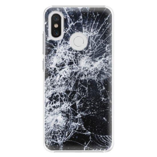 iSaprio Plastový kryt - Cracked pre Xiaomi Mi 8