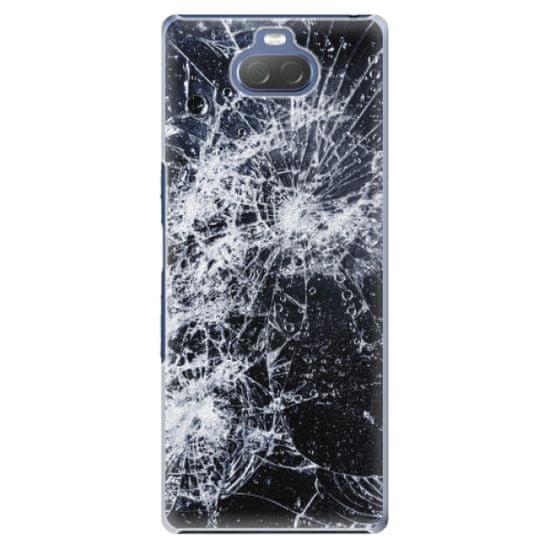 iSaprio Plastový kryt - Cracked pre Sony Xperia 10