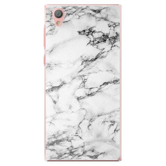 iSaprio Plastový kryt - White Marble 01 pre Sony Xperia L1