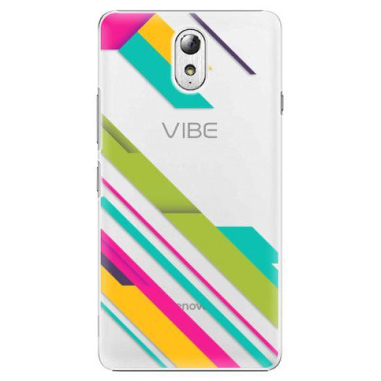 iSaprio Plastový kryt - Color Stripes 03 pre Lenovo Vibe P1m