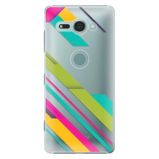 iSaprio Plastový kryt - Color Stripes 03 pre Sony Xperia XZ2 Compact