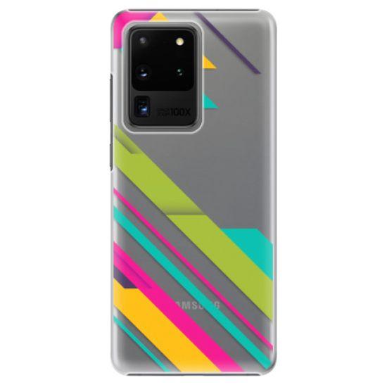 iSaprio Plastový kryt - Color Stripes 03 pro Samsung Galaxy S20 Ultra