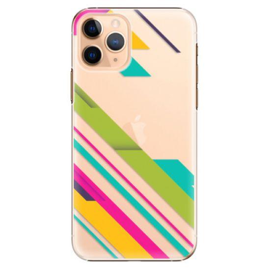 iSaprio Plastový kryt - Color Stripes 03 pro Apple iPhone 11 Pro