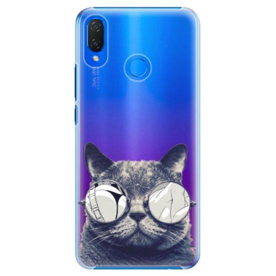 iSaprio Plastový kryt - Crazy Cat 01 pro Huawei Nova 3i