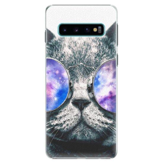 iSaprio Plastový kryt - Galaxy Cat pro SAMSUNG GALAXY S10