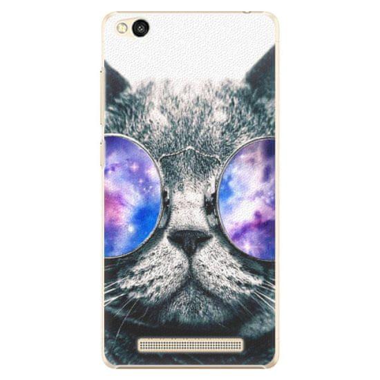iSaprio Plastový kryt - Galaxy Cat pro Xiaomi Redmi 3