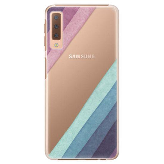 iSaprio Plastový kryt - Glitter Stripes 01 pre Samsung Galaxy A7 (2018)