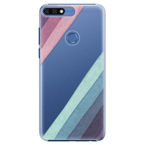 iSaprio Plastový kryt - Glitter Stripes 01 pre Honor 7C