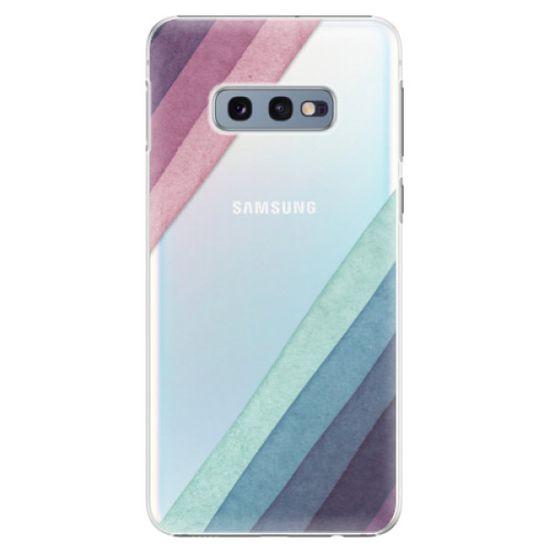 iSaprio Plastový kryt - Glitter Stripes 01 pre SAMSUNG GALAXY S10E