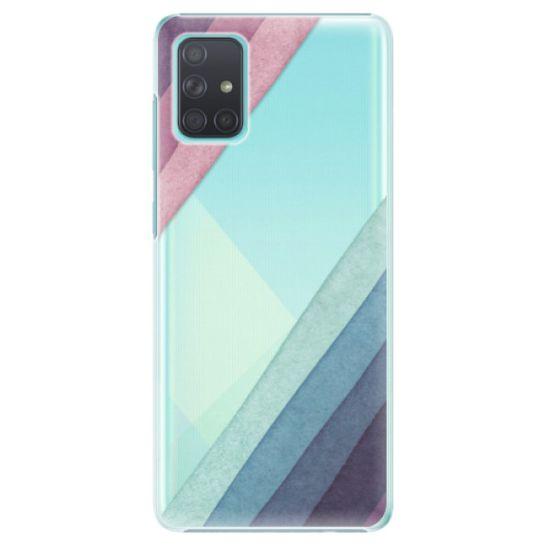 iSaprio Plastový kryt - Glitter Stripes 01 pre Samsung Galaxy A71
