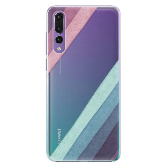 iSaprio Plastový kryt - Glitter Stripes 01 pre Huawei P20 Pro
