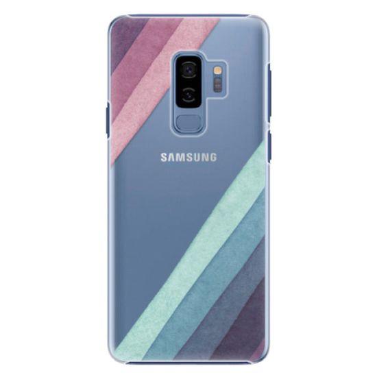 iSaprio Plastový kryt - Glitter Stripes 01 pre Samsung Galaxy S9 Plus
