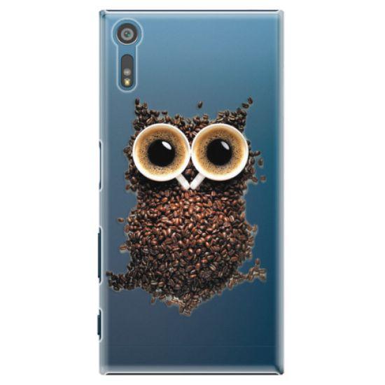 iSaprio Plastový kryt - Owl And Coffee pro Sony Xperia XZ