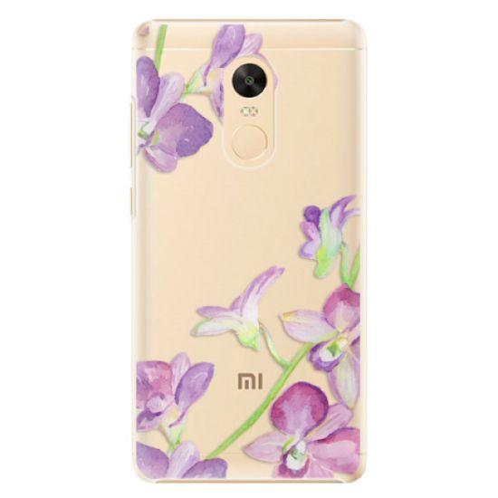 iSaprio Plastový kryt - Purple Orchid pro Xiaomi Redmi Note 4X