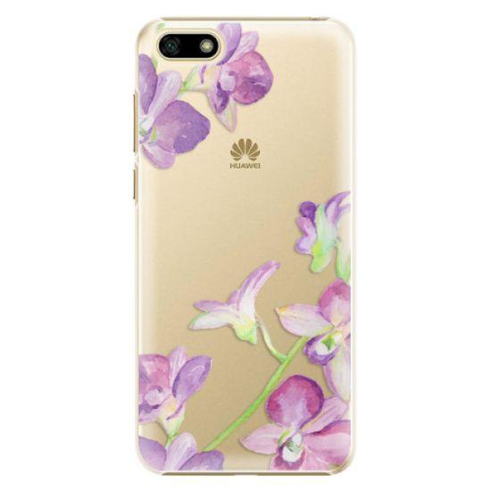 iSaprio Plastový kryt - Purple Orchid pro Huawei Y5 2018
