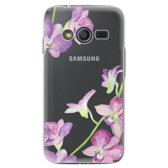 iSaprio Plastový kryt - Purple Orchid pre Samsung Galaxy Trend 2 Lite