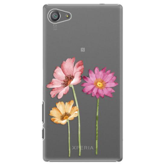 iSaprio Plastový kryt - Three Flowers pro Sony Xperia Z5 Compact