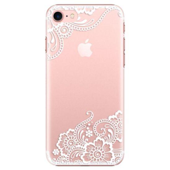 iSaprio Plastový kryt - White Lace 02 pro Apple iPhone 7 / 8