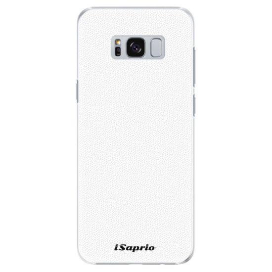 iSaprio Plastový kryt - 4Pure - white pre Samsung Galaxy S8+