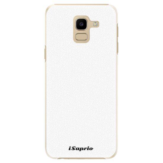 iSaprio Plastový kryt - 4Pure - white pre Samsung Galaxy J6