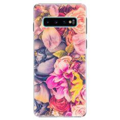 iSaprio Plastový kryt - Beauty Flowers pro SAMSUNG GALAXY S10