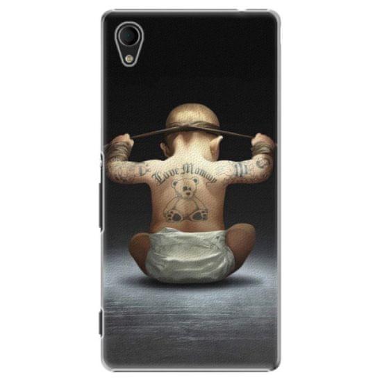 iSaprio Plastový kryt - Crazy Baby pre Sony Xperia M4 Aqua