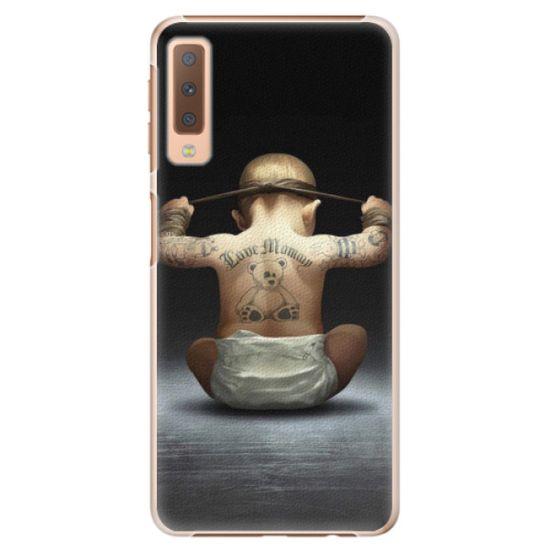 iSaprio Plastový kryt - Crazy Baby pre Samsung Galaxy A7 (2018)
