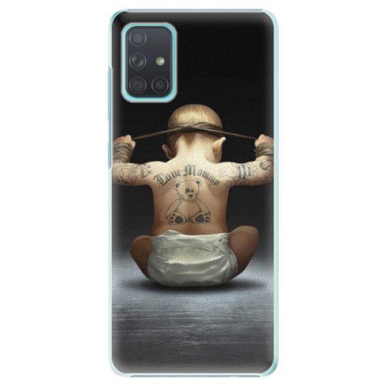 iSaprio Plastový kryt - Crazy Baby pre Samsung Galaxy A71