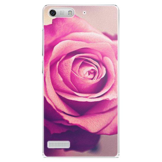 iSaprio Plastový kryt - Pink Rose pre Huawei Ascend G6
