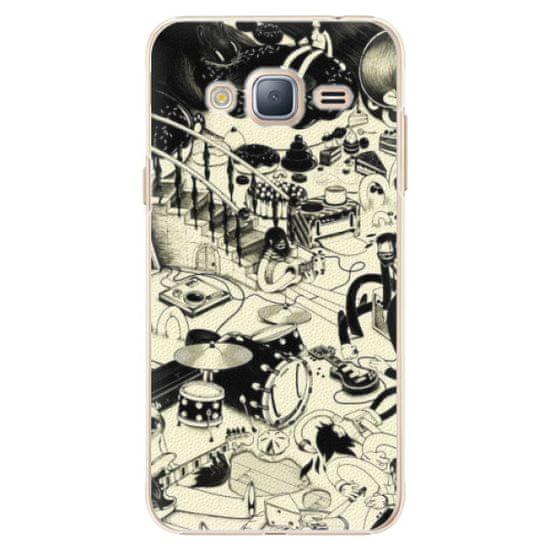 iSaprio Plastový kryt - Underground pro Samsung Galaxy J3 (2016)