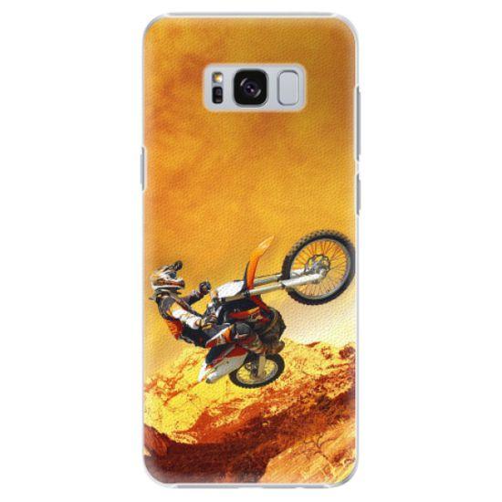 iSaprio Plastový kryt - Motocross pre Samsung Galaxy S8
