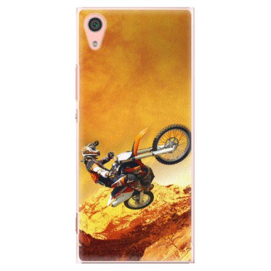 iSaprio Plastový kryt - Motocross pre Sony Xperia XA1
