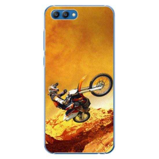 iSaprio Plastový kryt - Motocross pre Honor View 10