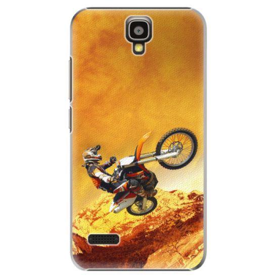 iSaprio Plastový kryt - Motocross pre Huawei Y5