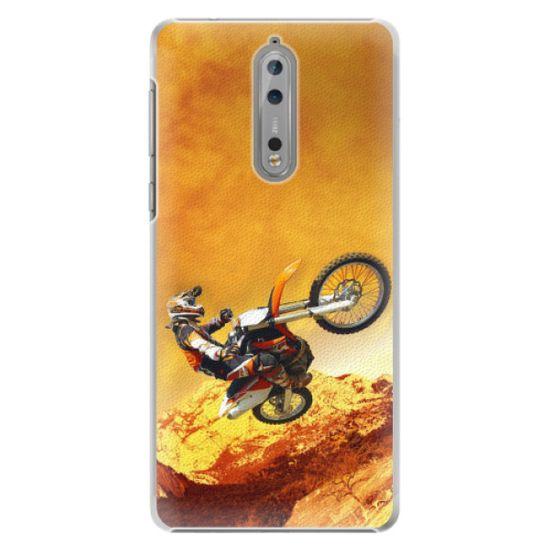 iSaprio Plastový kryt - Motocross pre Nokia 8