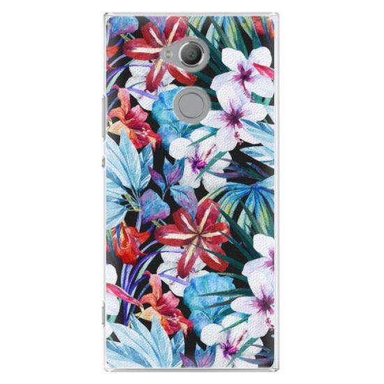 iSaprio Plastový kryt - Tropical Flowers 05 pre Sony Xperia XA2 Ultra