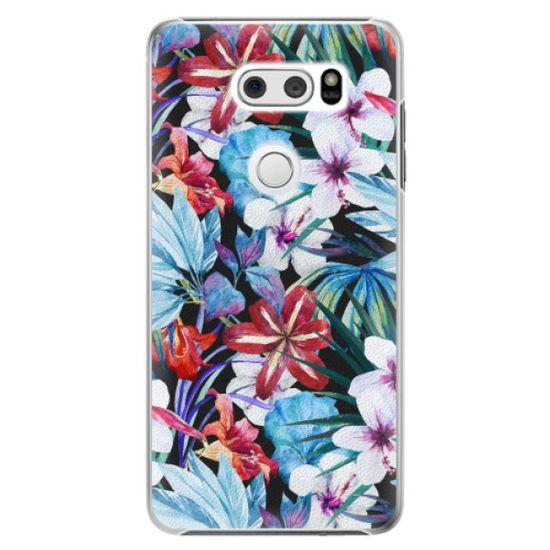 iSaprio Plastový kryt - Tropical Flowers 05 pre LG V30