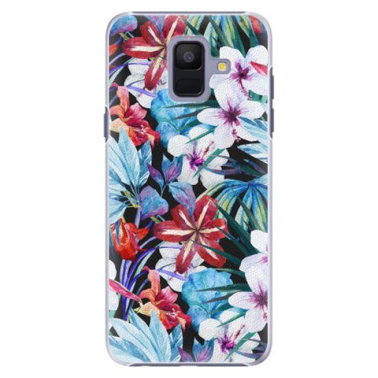 iSaprio Plastový kryt - Tropical Flowers 05 pre Samsung Galaxy A6
