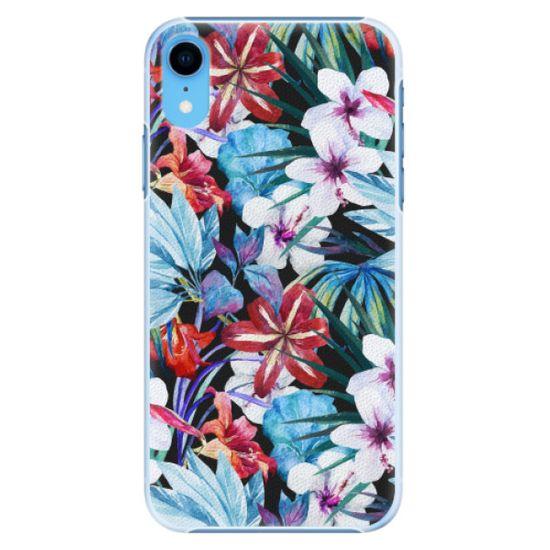 iSaprio Plastový kryt - Tropical Flowers 05 pre Apple iPhone Xr