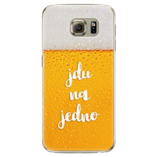 iSaprio Plastový kryt - Jdu na jedno pre Samsung Galaxy S6 Edge Plus