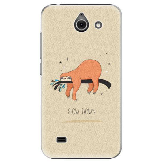 iSaprio Plastový kryt - Slow Down pro Huawei Y550