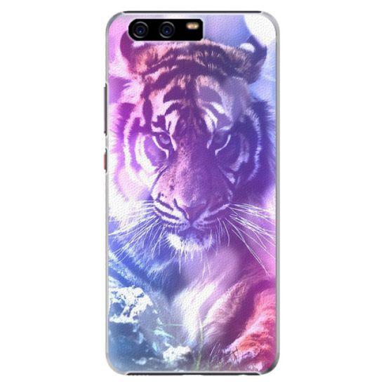 iSaprio Plastový kryt - Purple Tiger pro Huawei P10 Plus