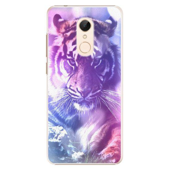 iSaprio Plastový kryt - Purple Tiger pro Xiaomi Redmi 5