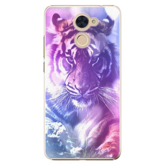 iSaprio Plastový kryt - Purple Tiger pro Huawei Y7