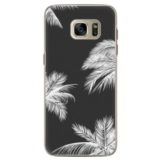 iSaprio Plastový kryt - White Palm pre Samsung Galaxy S7