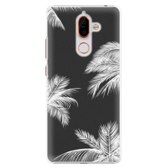iSaprio Plastový kryt - White Palm pro Nokia 7 Plus