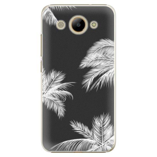 iSaprio Plastový kryt - White Palm pre Huawei Y3 2017