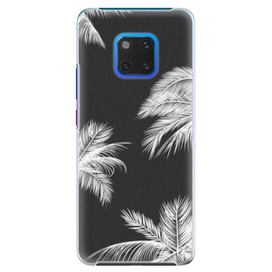 iSaprio Plastový kryt - White Palm pro Huawei Mate 20 Pro